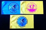 Флаги  и настольные флажки с логотипом